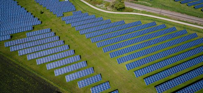 Solar Panels from Unsplash
