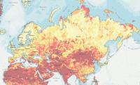 Screenshot of the Aqueduct Risk Atlas
