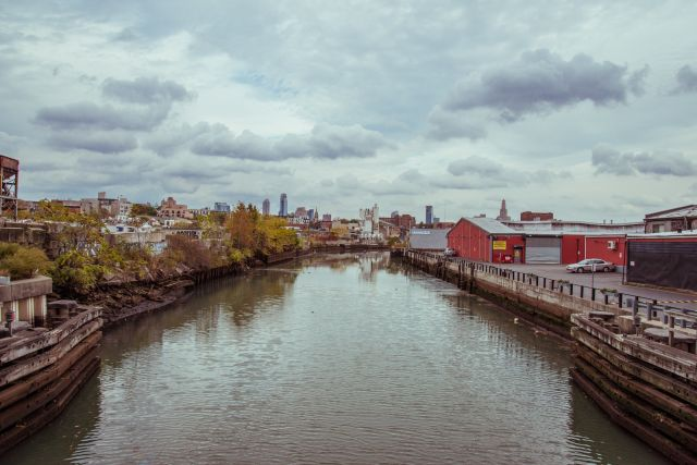 Gowanus Canal in Brooklyn, New York. Photo by Robert Wolcheck/Flickr