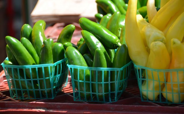 Fresh chilis. Flickr/Adam Fagen