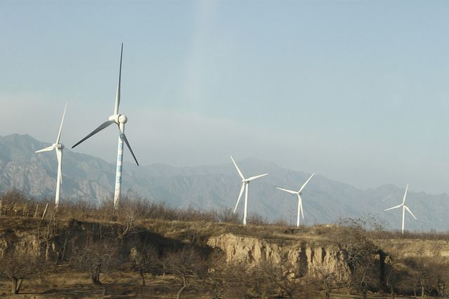 Wind Power Generators, Beijing