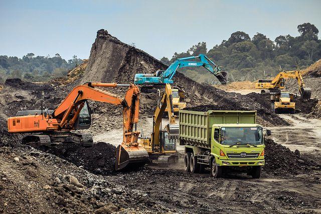 coal mining site