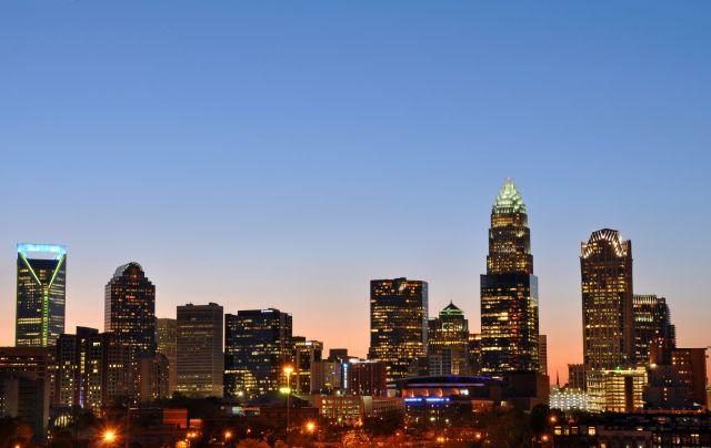 Charlotte skyline. Photo by James Willamor/Flickr