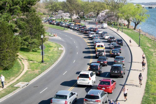 Traffic congestion in Washington, DC. Flickr/cherryblossomwatch