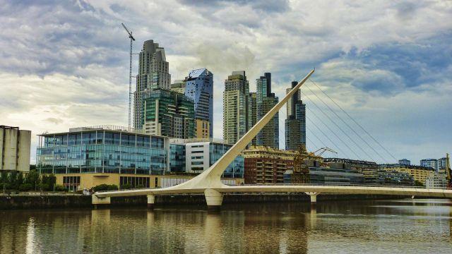 Buenos Aires from the Rio de la Plata. Flickr/Mariano Mantel