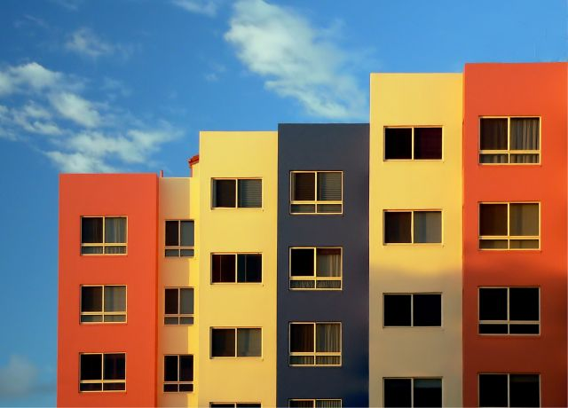 Affordable housing for all. Flickr/Bernard Spragg
