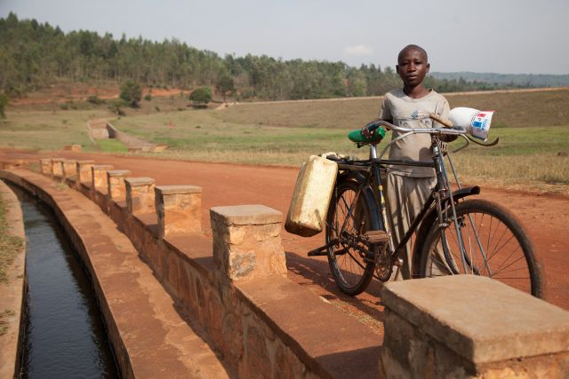 An irrigation project in Rwanda. Flickr/World Bank Photo Collection