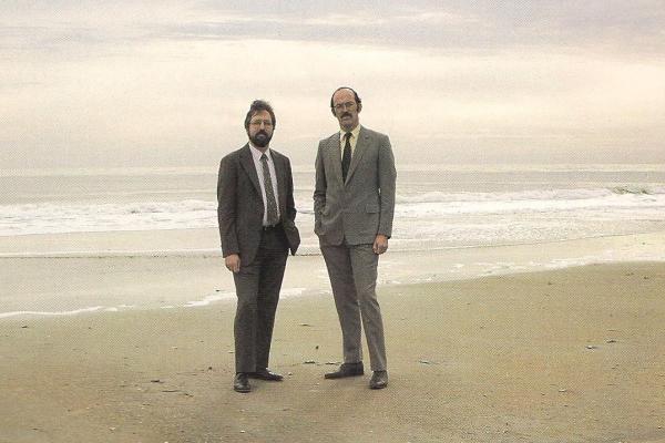 Irving Mintzer and Rafe Pomerance of WRI.