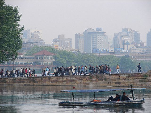 River in Hangzhou, China