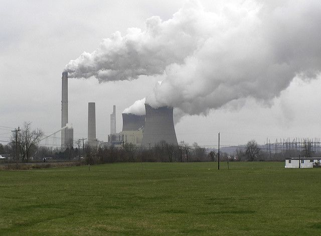 Coal-fired power plant in Ohio