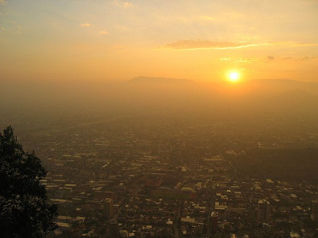 2014 was not just the hottest year on record globally, but the world also experienced record-high seasonal temperatures in the summer and fall, and the second-warmest spring. (Santiago, Chile) Photo by Michel/Flickr.