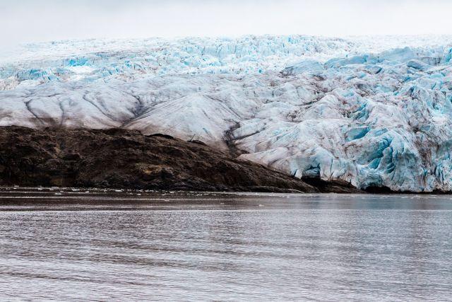 Melting Arctic glacier. Photo by Daniel Foster/Flickr