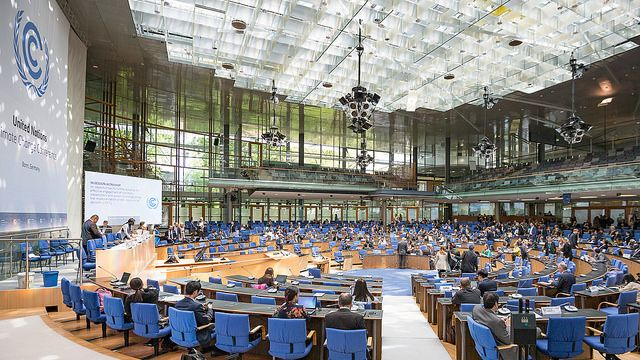Latest round of climate negotiations in Bonn, Germany