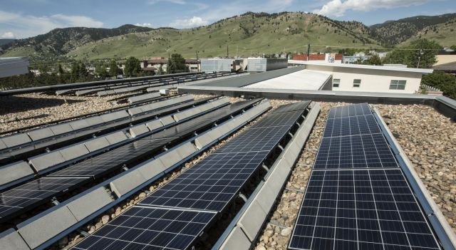 Rooftop solar at National Renewable Energy Lab. Flickr/Boulder Renewable Energy Lab