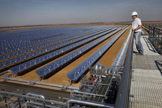 Solar power station in Spain. Photo by Bilfinger SE/Flickr.