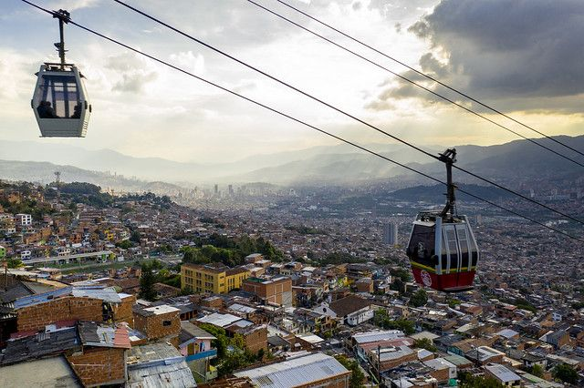 Metrocable cars