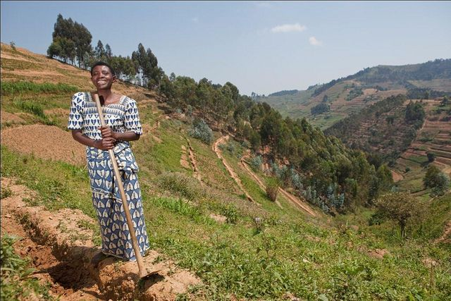 In Africa, farmers rely on their rights to community land, but governments don't always back them up with legislation. Photo Credit: Gates Foundation/Flickr