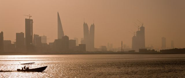 Manama skyline in Bahrain, where the GCF is set to meet. Flickr/Michele Solmi