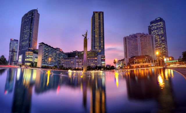 Jakarta skyline. Flickr/Alex Hanoko