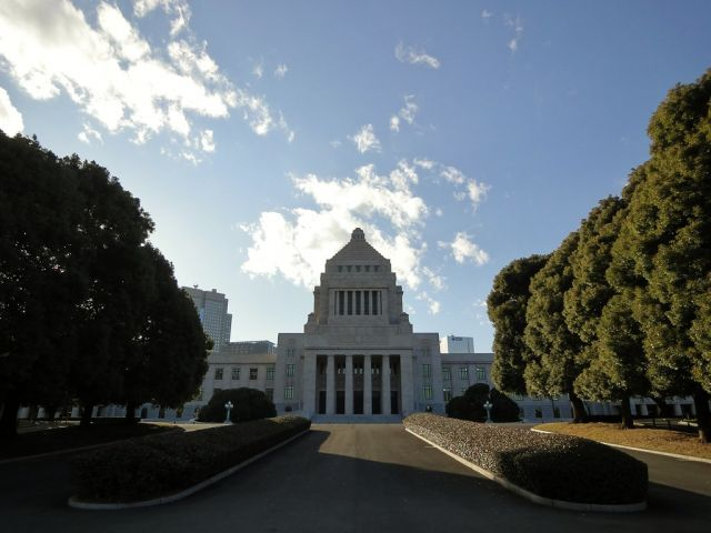 Japan's national legislature, the Diet. Flickr/mbell1975