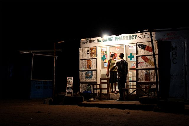 Pharmacy in Monrovia