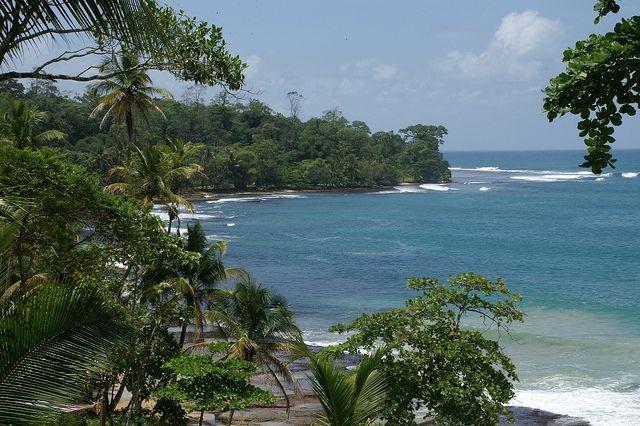 Isla Colon in Bocas del Toro, Panama.