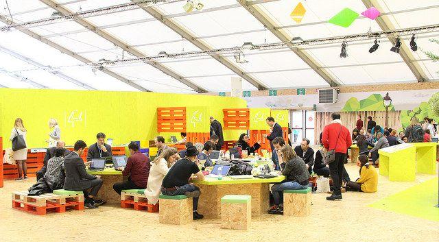 COP21 Paris climate conference. Photo credit WRI