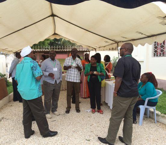 Senegalese and Kenyan leaders meeting
