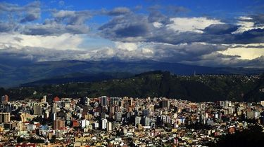 Quito and clouds