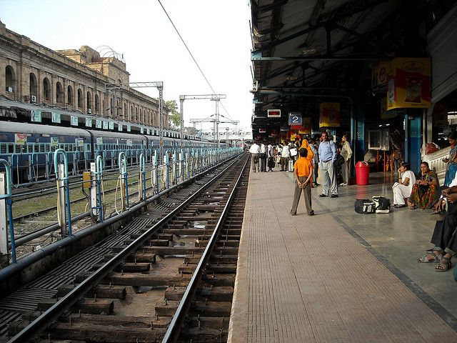 India's railways are the country's largest consumer of electricity and diesel fuel. Photo by Sistak/Flickr