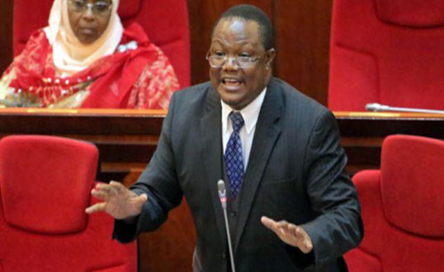 Tundu Lissu in Parliament. Wikimedia