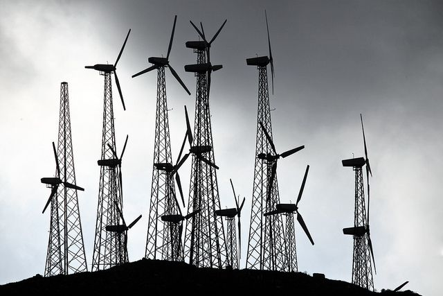 Wind turbines now supply electricity to millions of American homes. Photo by Håkan Dahlström/Flickr