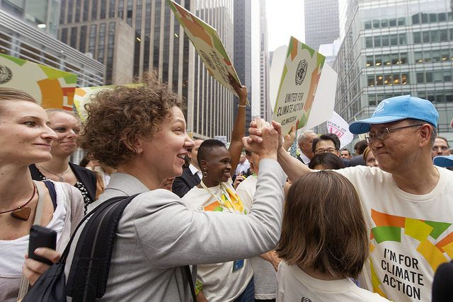 NYC People's Climate March, September 21, 2014. Photo Credit: United Nations/Flickr
