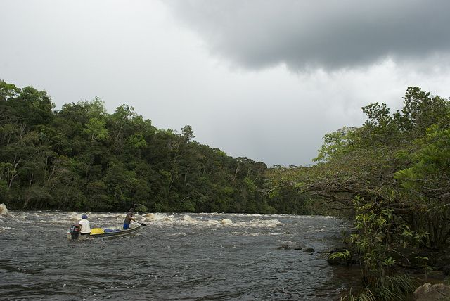 River in Colombia