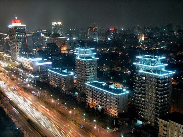 Chaoyang district, Beijing. Photo by Peter PZ/Flickr