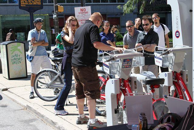 Philadelphia bike share