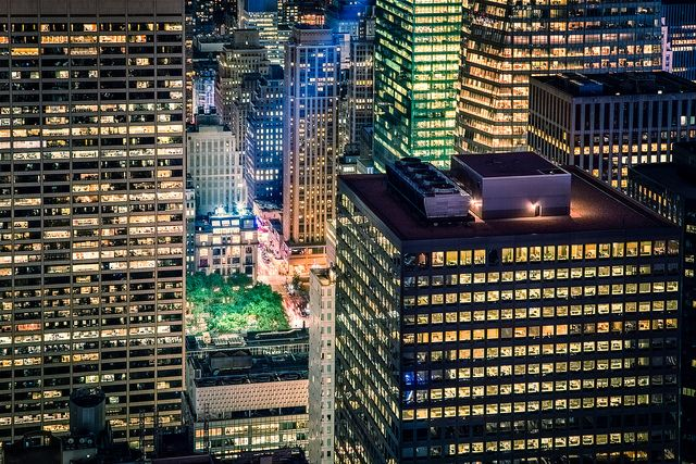 Homes and commercial buildings account for 74 percent of electricity demand in the United States, making them a critical part of any plan to reduce greenhouse gas emissions. Photo Credit: Justin Brown, Flickr