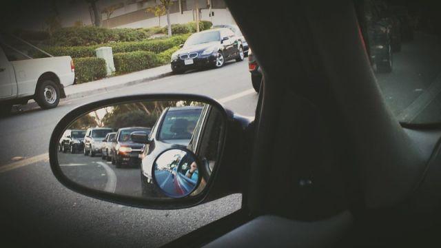 California traffic jam