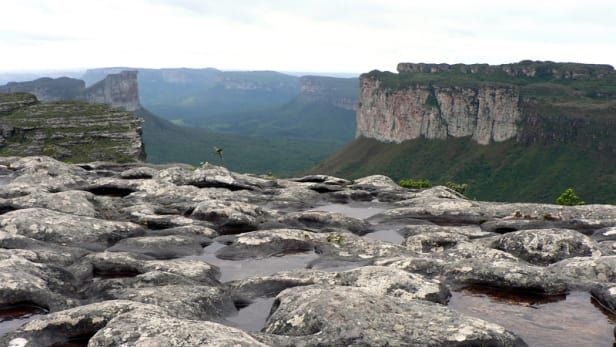 view of Chapada Diamantina in Brazil