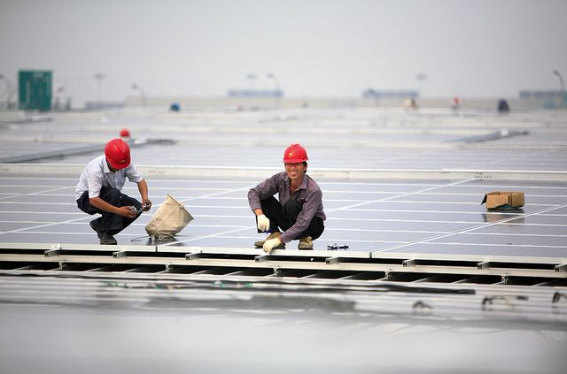 Last year, China invested $90 billion in low-carbon energy. Photo by Jiri Rezac/Flickr