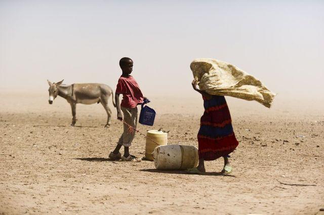 Herders in Kenya.