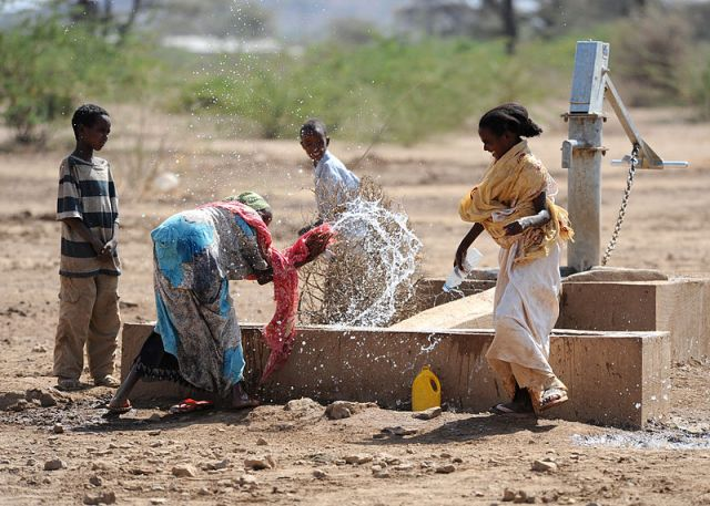 Water scarcity in Ethiopia
