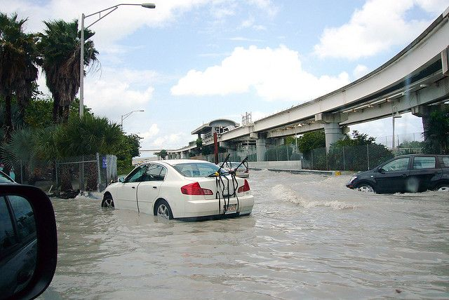 Flooding in downtown Miami. Photo by carvalho/Flickr