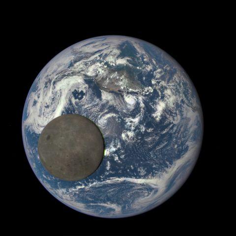 Photo by DSCOVR EPIC/NASA.