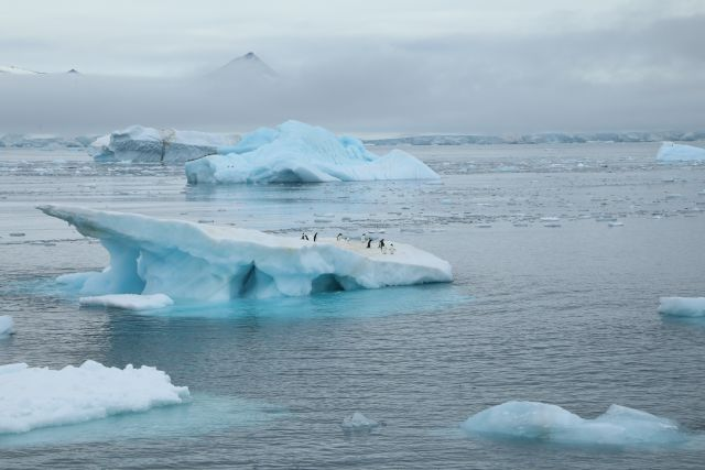 iceberg melting