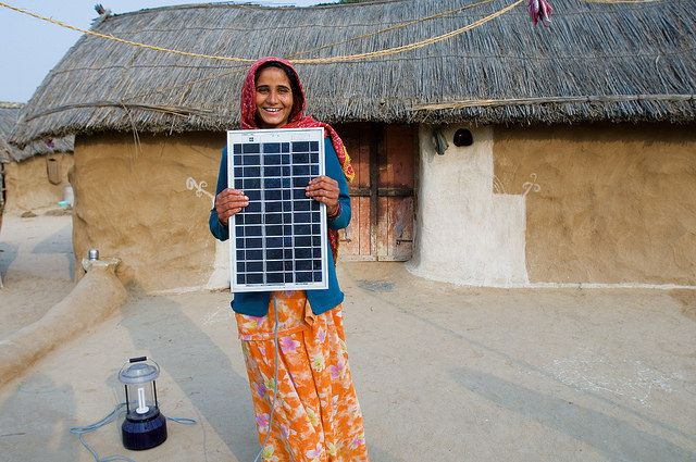 India solar panel