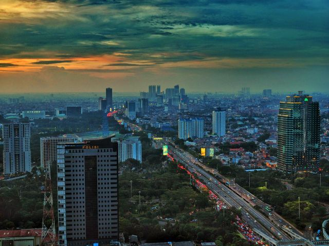 Jakarta, Indonesia. Photo by Dino Adyansyah/Flickr.