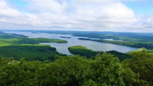 Lake Maumelle in central Arkansas