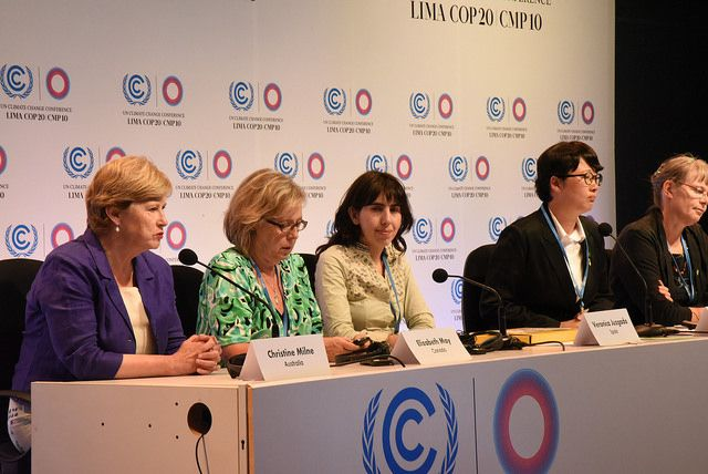 COP 20  UN Climate Change Conference. (Lima, Peru) Photo by Greens MPs/Flickr.