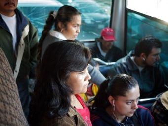 Marta Ramirez, commuting. Photo credit: WRI